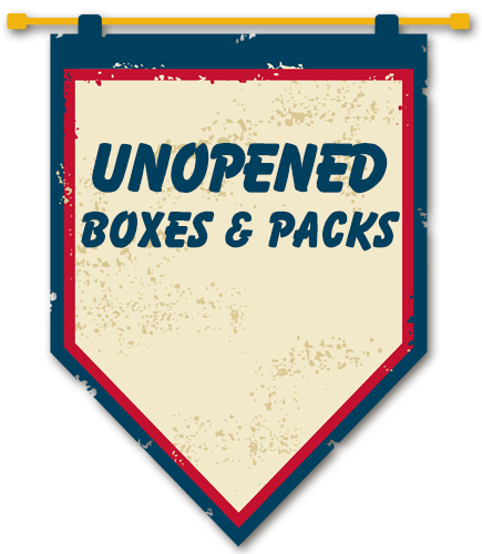 Unopened Boxes and Packs
